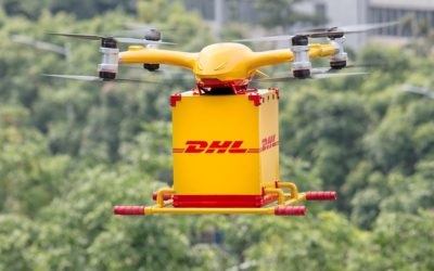 Lanzamiento en China Video: así funcionan los drones autónomos que reparten paquetes en cuestión de minutos